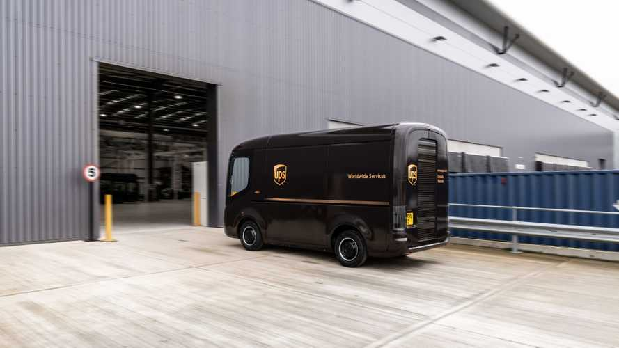 UPS Invests In Arrival And Orders 10,000 Electric Vans