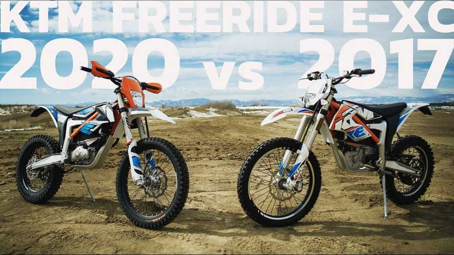 How Does The New KTM Freeride E-XC Bike Stack Up?