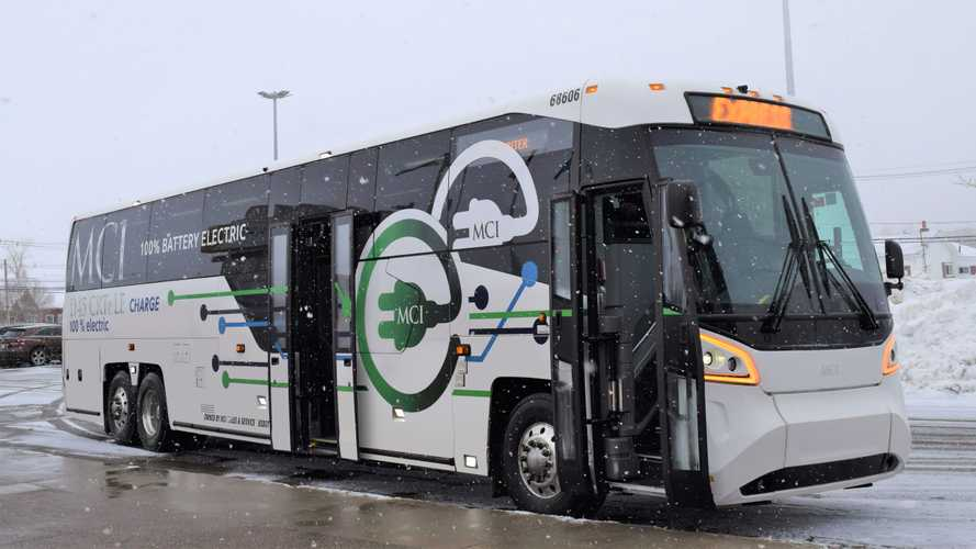 MCI Demonstrates First Battery Electric Coach In Canada