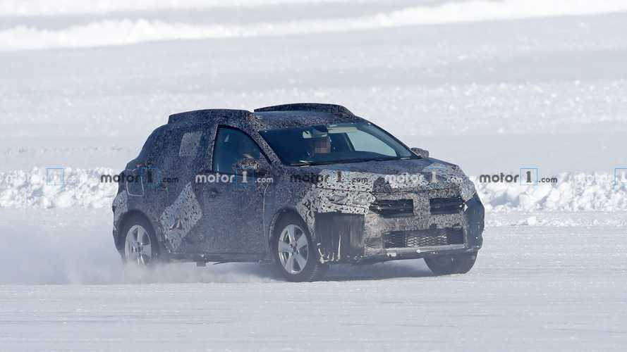 2021 Dacia Sandero Stepway new spy photos