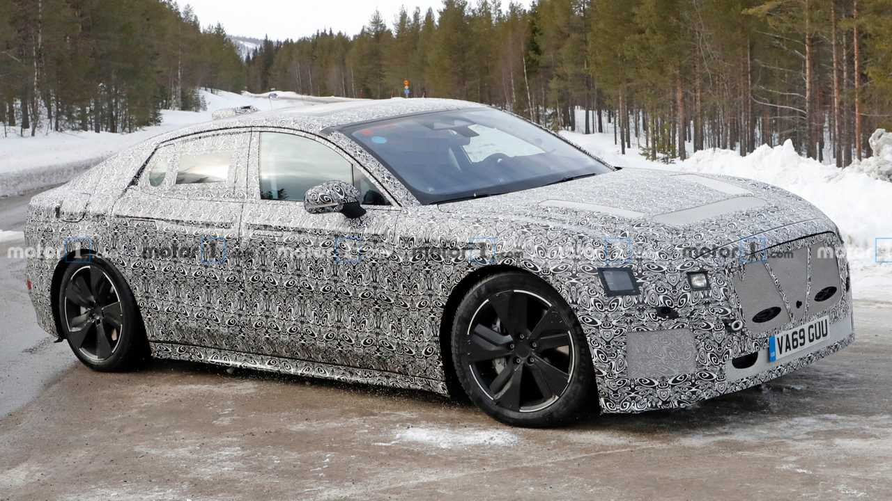 Jaguar XJ Electric Sedan Spy Shots