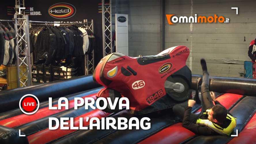 """Airbag moto, la prova """"speciale"""" a Motor Bike Expo 2020"""