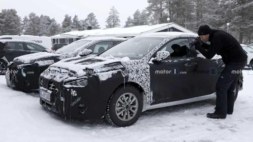 Photos espion - Hyundai i30 restylée