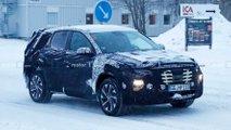 hyundai tucson spied covered snow