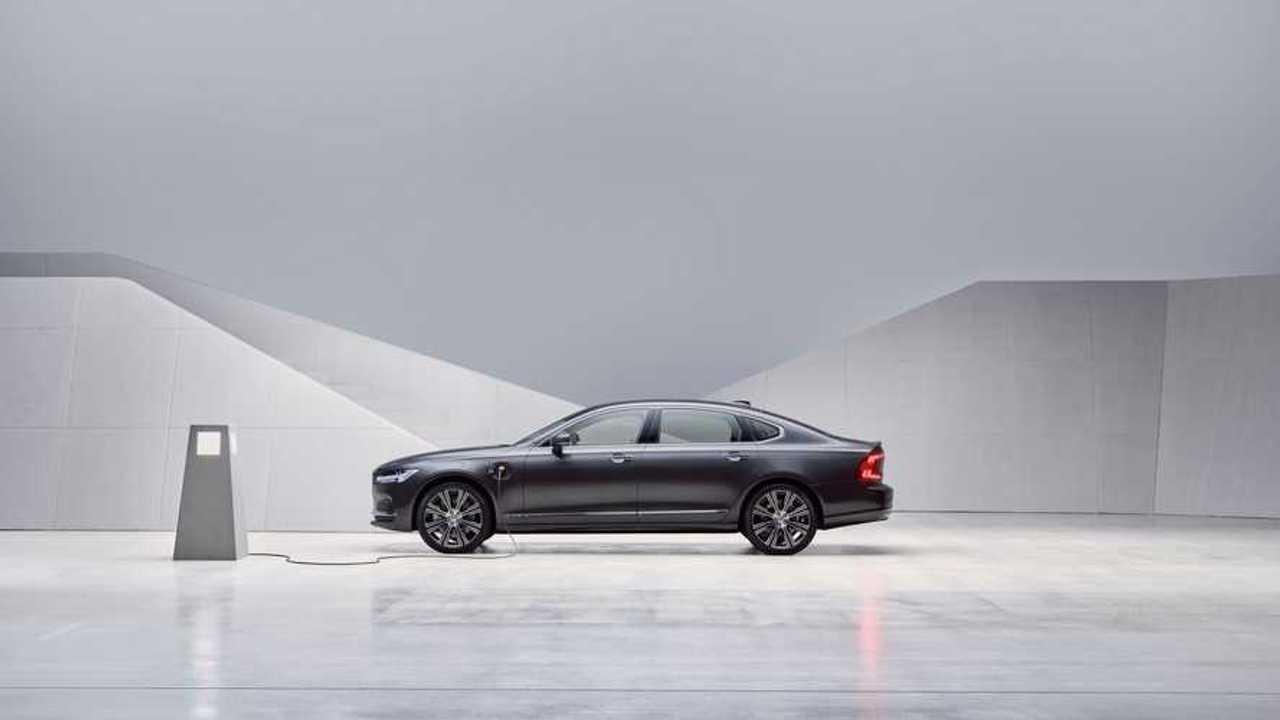 Volvo S90 restyling (2020)