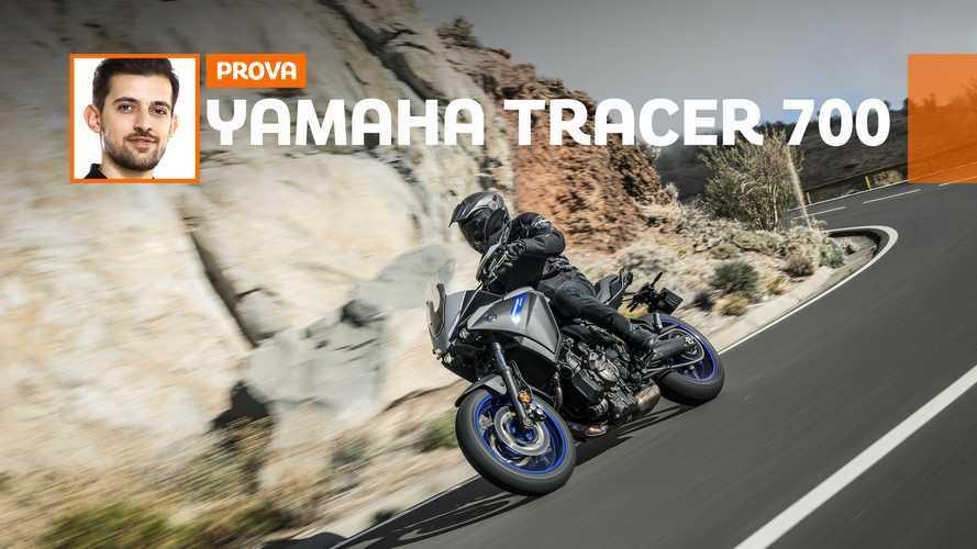 Yamaha Tracer 700 2020 -TEST