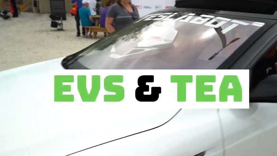 'EVs & Tea' Event Recap Video And Images: EV Community Comes Together