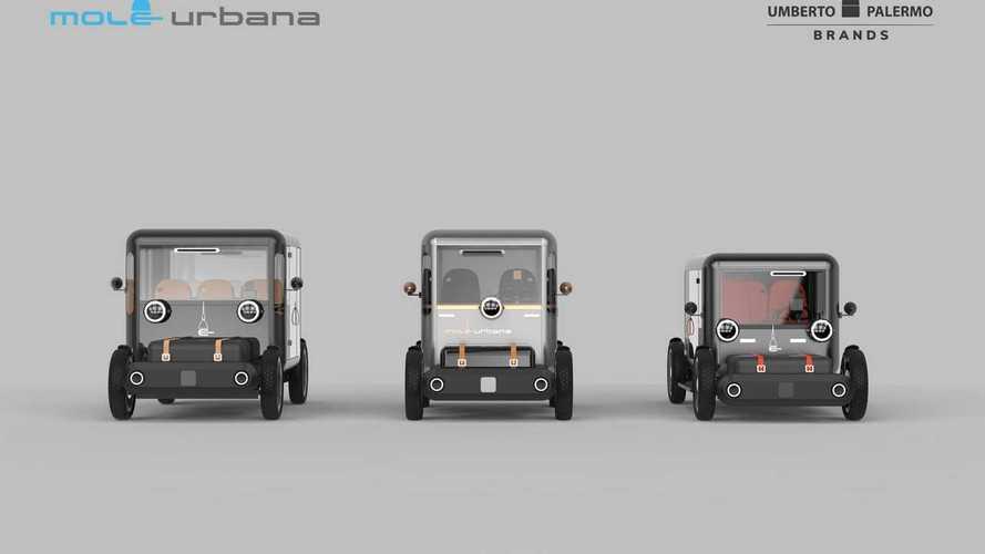 Mole Urbana, el 'carro' eléctrico italiano