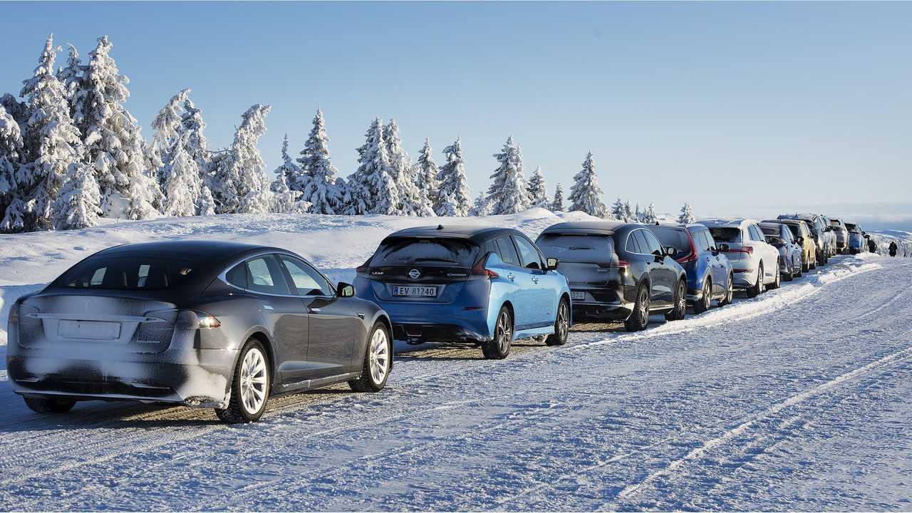 Téli EV tartomány teszt 20 autó felfedi a legjobb EV a hideg időjárás