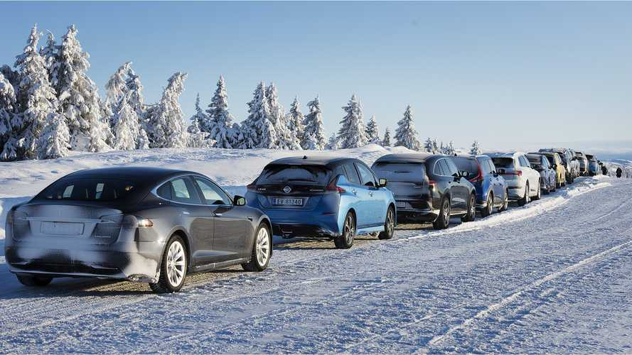 Biggest Winter Range Test Ever Reveals Best EVs For Cold Weather