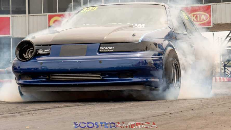 See Taurus SHO Rip 8-Second Quarter-Mile, Launch Hood Into Space