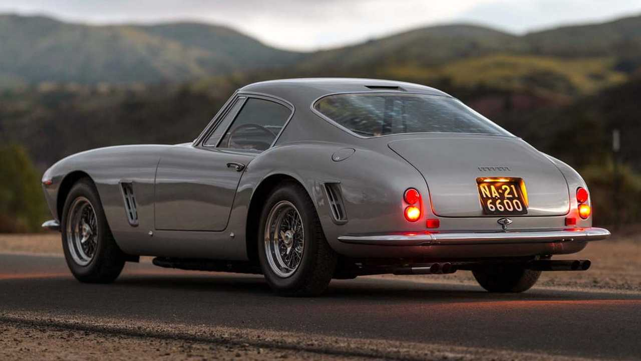 1958 Ferrari 250 GT LWB California Spider ($9,905,000)