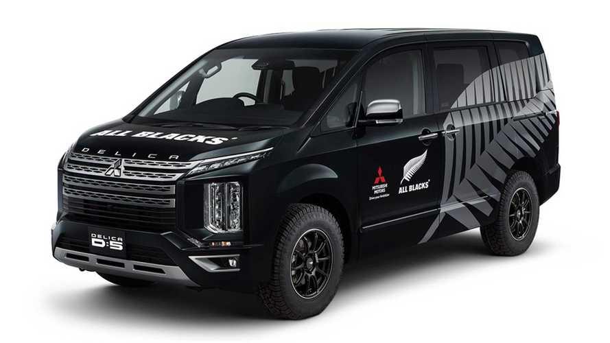 Mitsubishi lineup at 2020 Tokyo Auto Salon