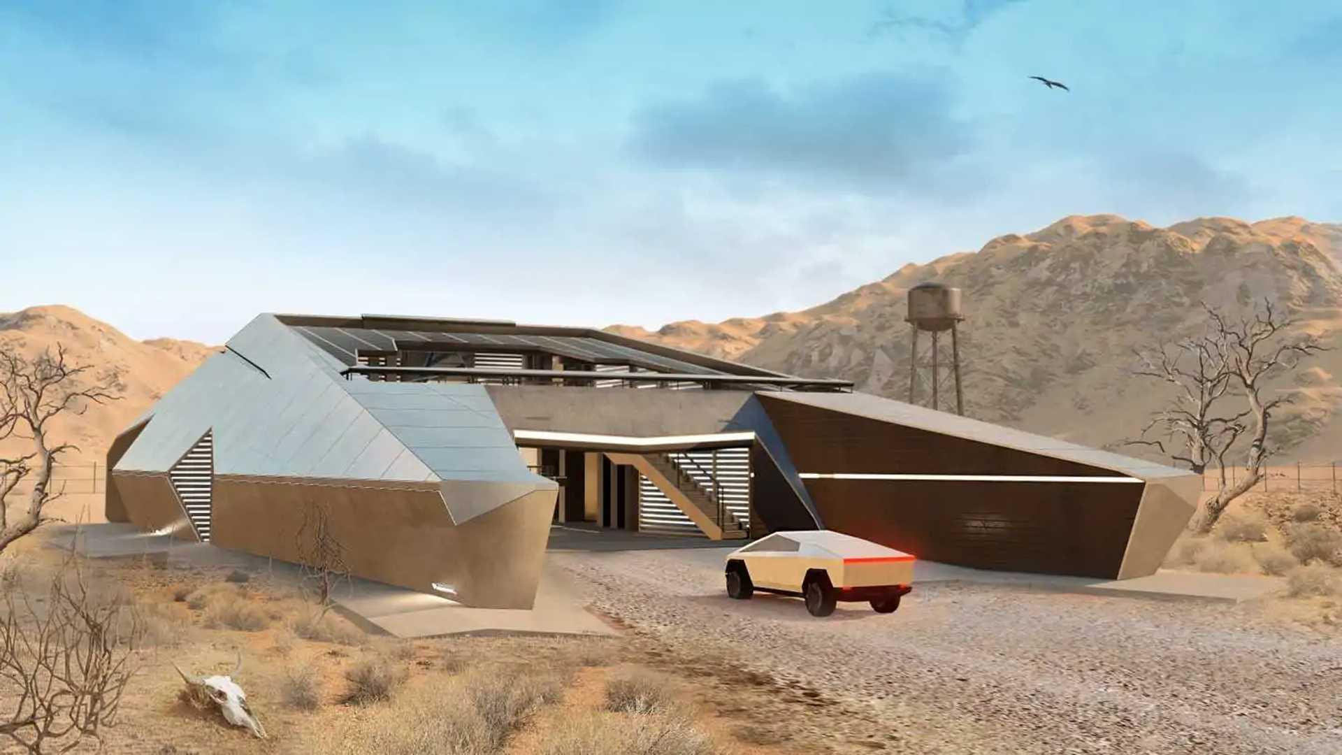 Tesla Cyberhouse