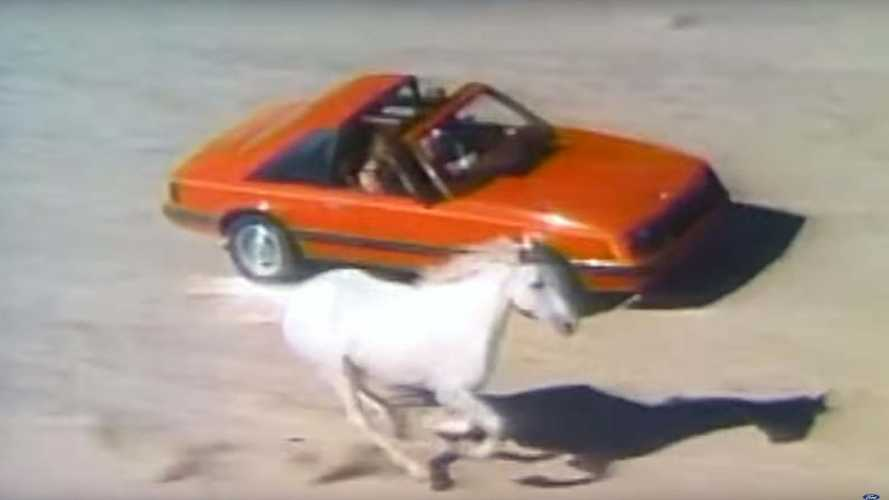 See 55 Years Of The Ford Mustang In This Mach-E Promo
