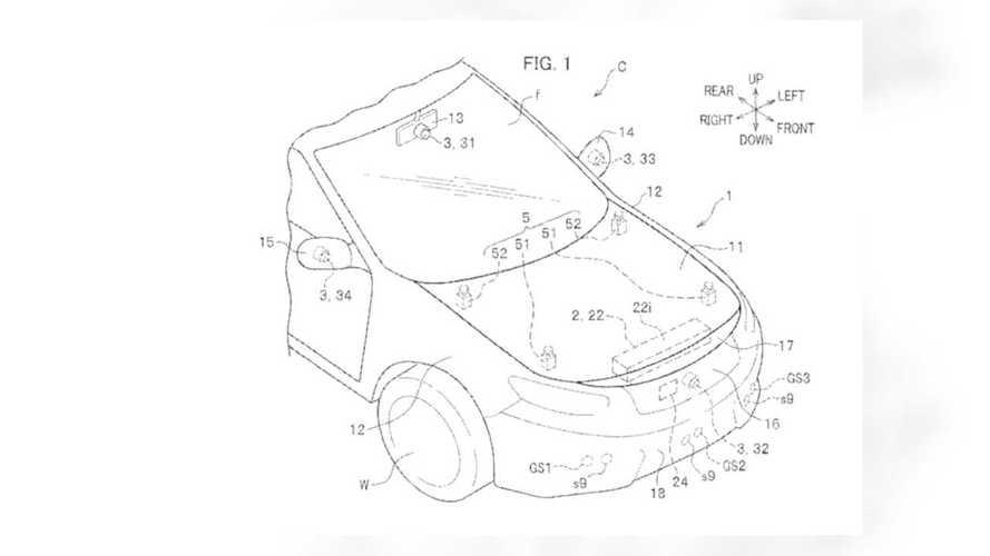 Honda External Airbag System Patents