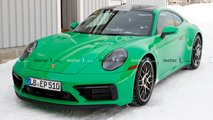 Porsche 911 GTS - шпионские фото