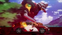 Honda Civic and Evangelion ad campaign