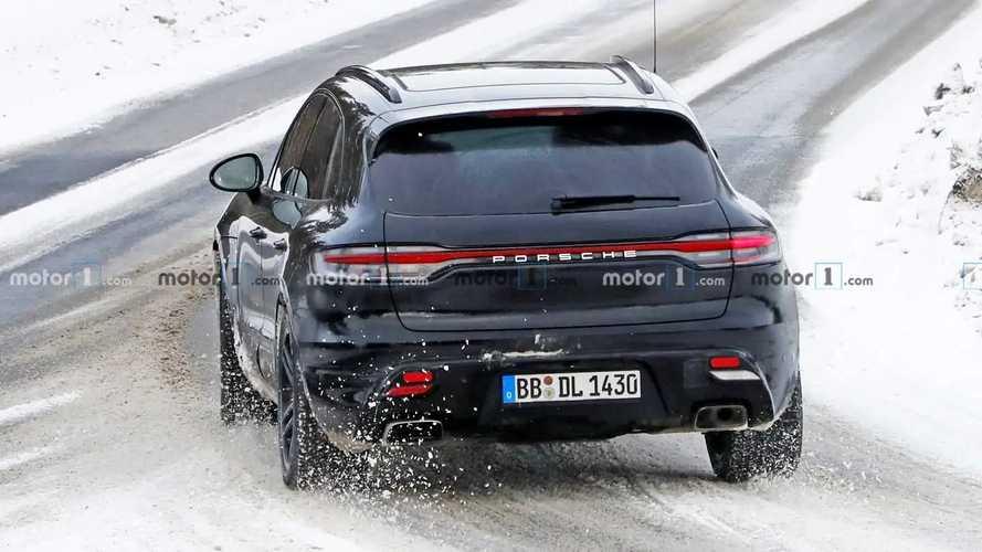 Yeni Jenerasyon 2022 Porsche Macan Casus Fotoğrafları