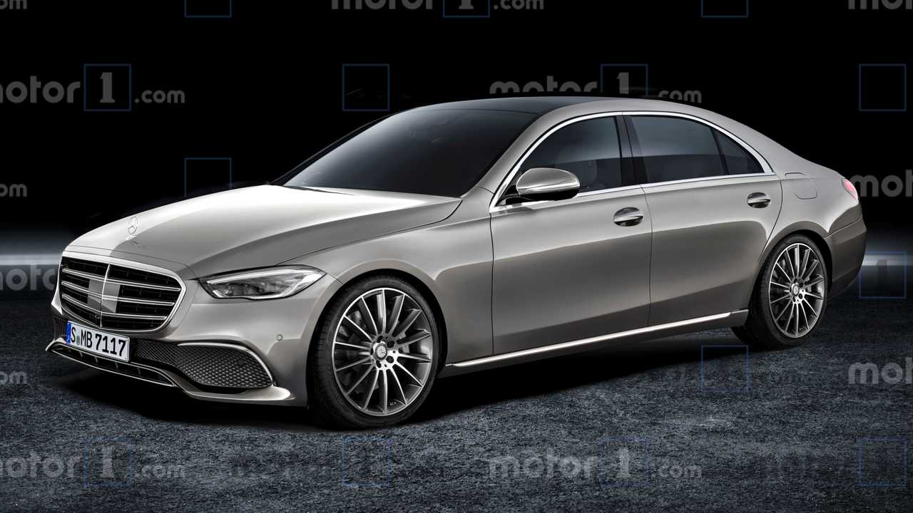 2021 Mercedes-Benz S-Class Renderings