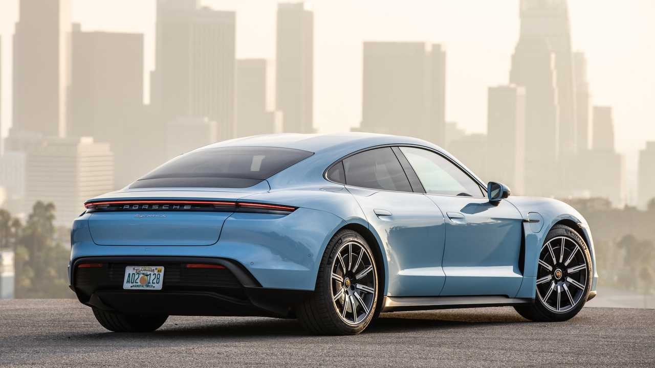 2020 Porsche Taycan 4S: First Drive