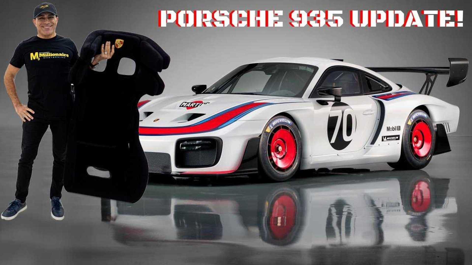 Porsche 935 passenger seat is a £7,500 option