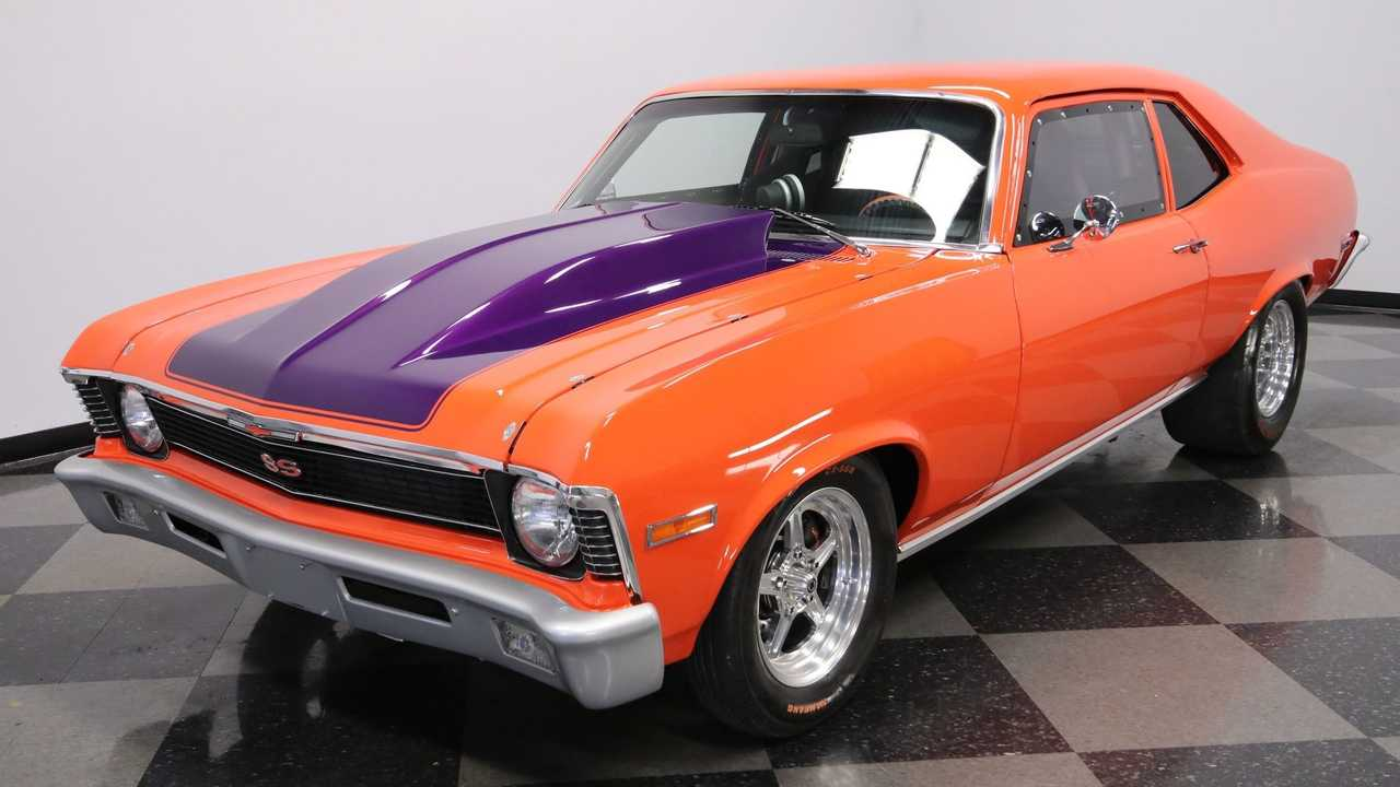 Conquer The Street And Strip In This 1970 Chevy Nova Pro Street