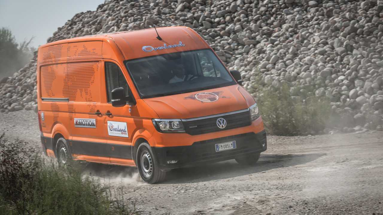 Volkswagen Crafter 4Motion – MAN TGE 4x4