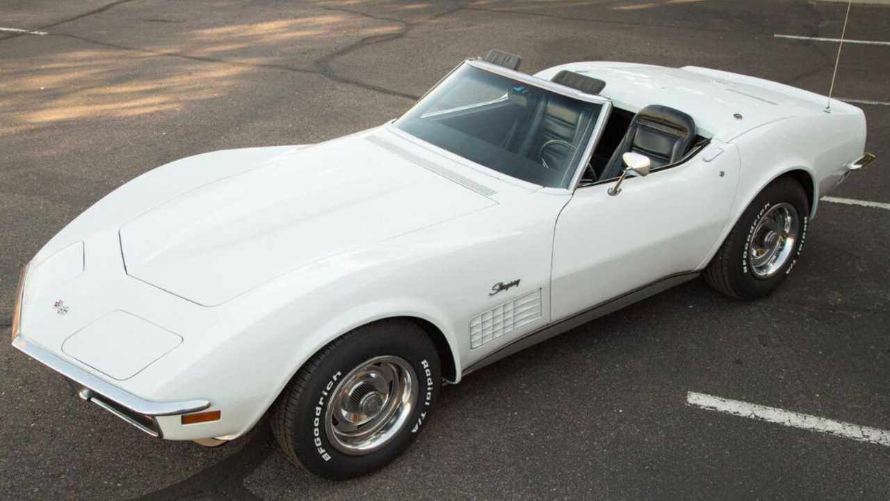 Ride On In This 1972 Chevy Corvette