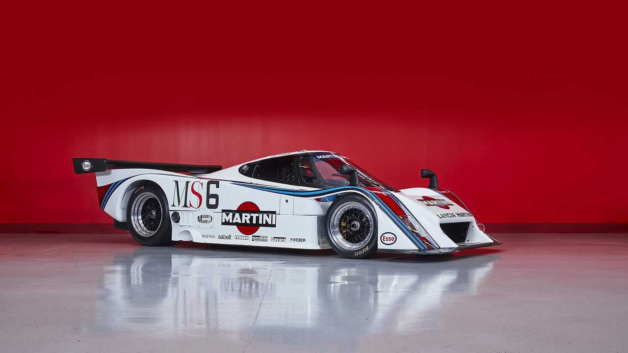 Incredible Collection Of Martini-Liveried Lancia Racecars Up For Sale