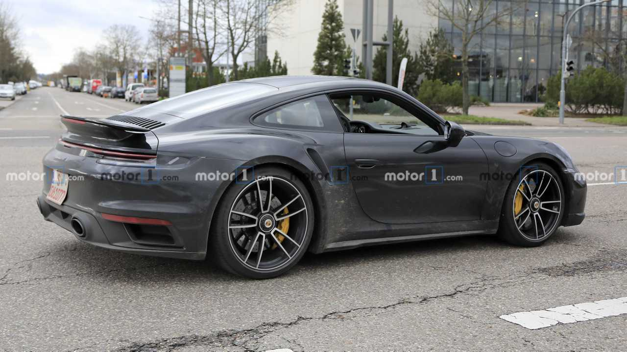 Photo espion Porsche 911 Turbo