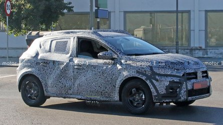 2021 Dacia Sandero Stepway Spied For The First Time