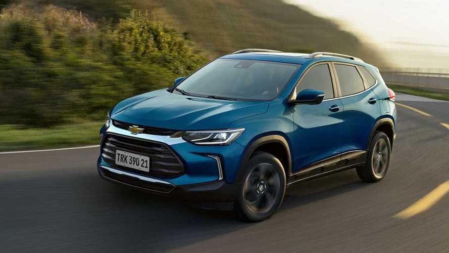 Chevrolet Tracker 2021 - Imagens do site