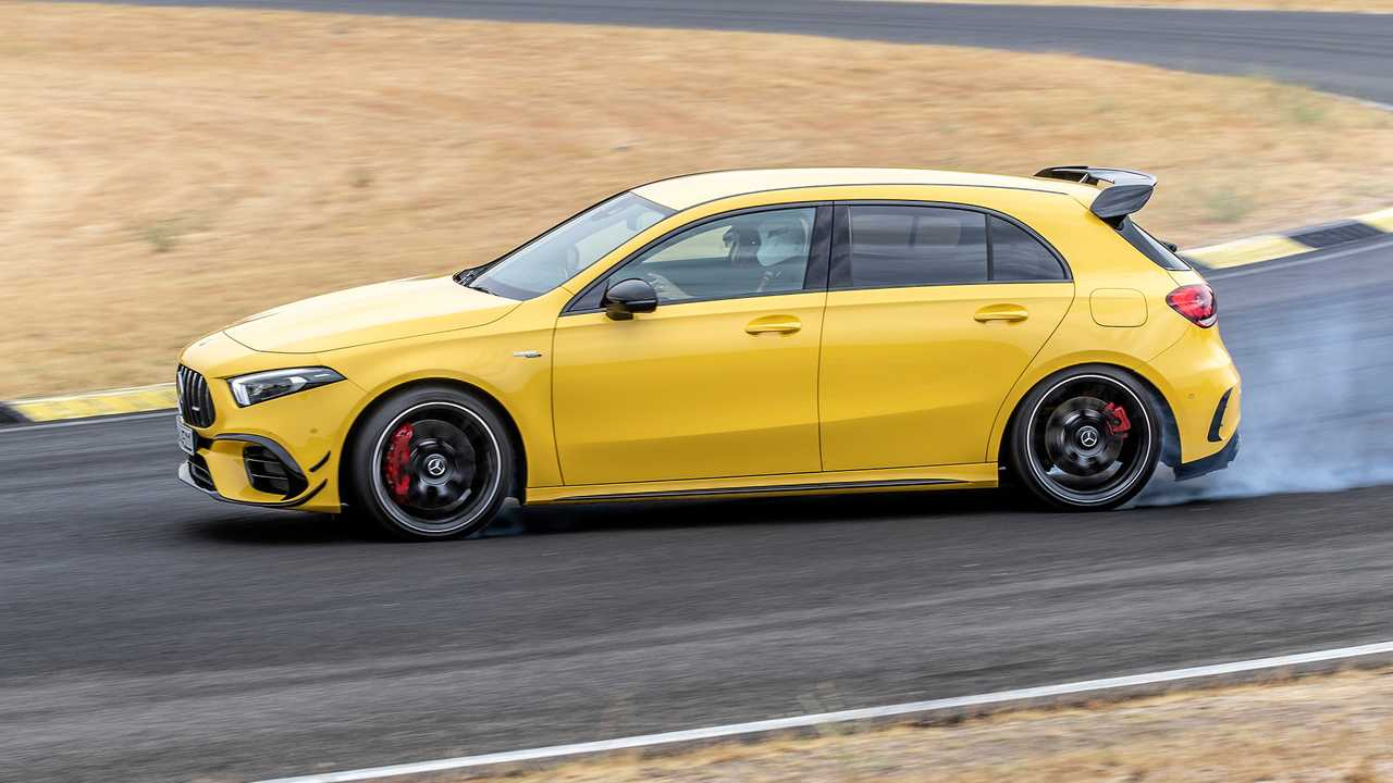 421 CV: Mercedes-AMG A 45 S 4MATIC+