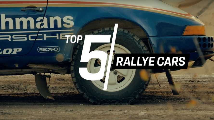 Porsche shows off its Top 5 rally cars