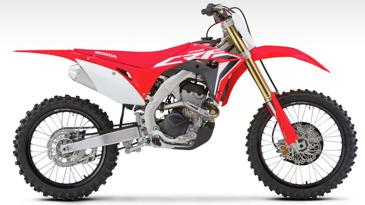 2020 Honda CRF250R And 250RX