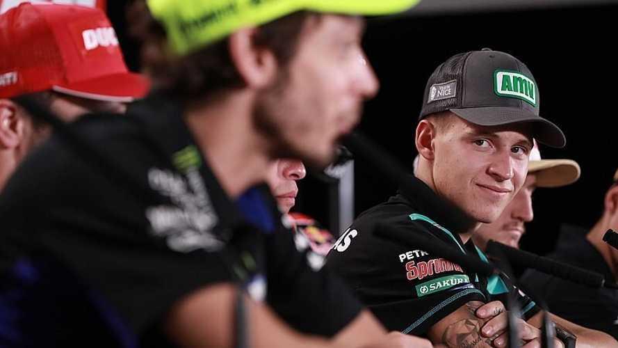 Quartararo acompañará a Viñales en el equipo oficial de Yamaha en 2021