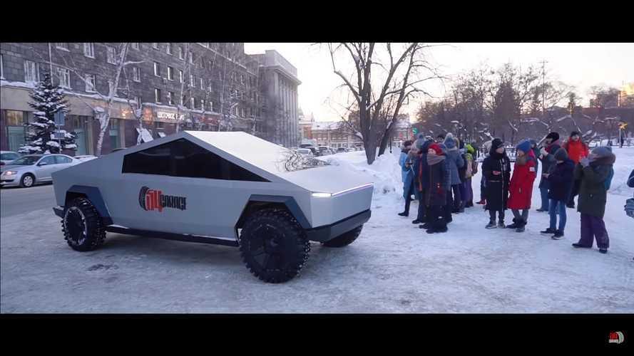 Le Tesla Cybertruck russe est terminé !