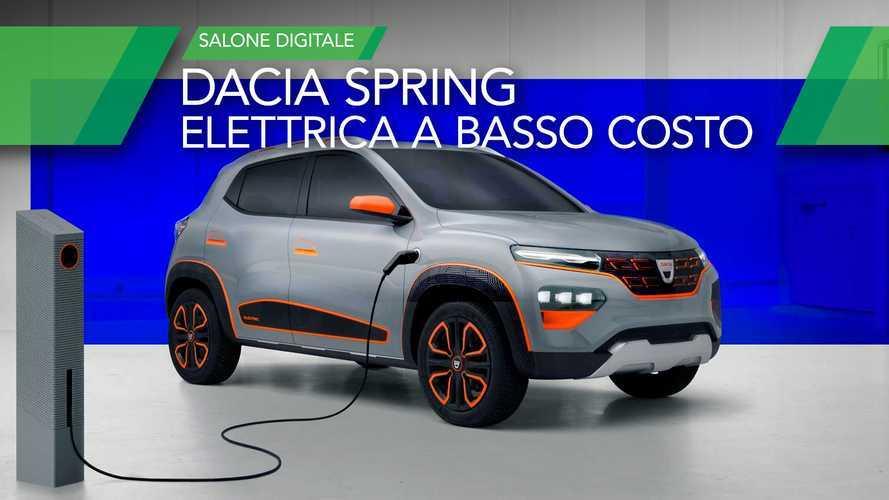 Dacia Spring, mini SUV elettrico economico con 200 km di autonomia