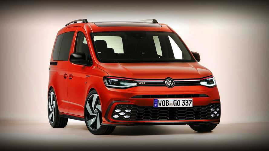 VW Caddy GTI and Golf GTI Cabrio renderings