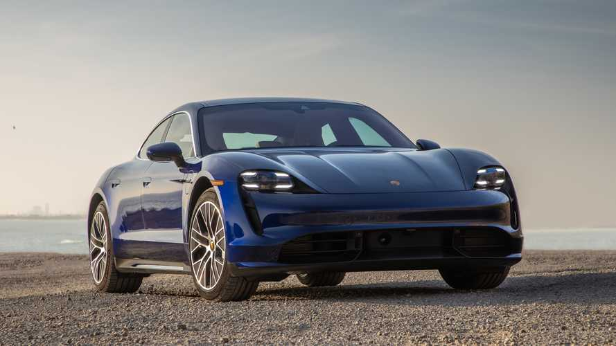 Porsche Taycan Offers Fast Charging, But Efficiency Slows It Down