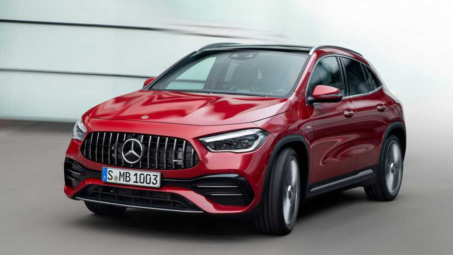 2021 Mercedes GLA Debuts With 302-HP AMG 35, Car Wash Function