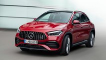 2021 mercedes gla revealed