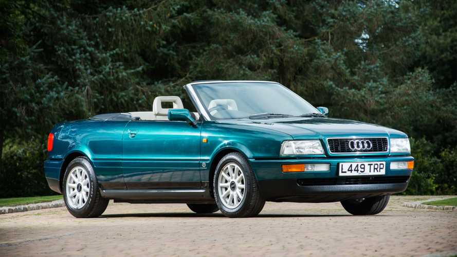 Princess Diana's 1994 Audi Convertible Up For Grabs
