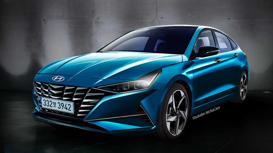 Hyundai Elantra terá visual ousado na próxima geração; veja projeção