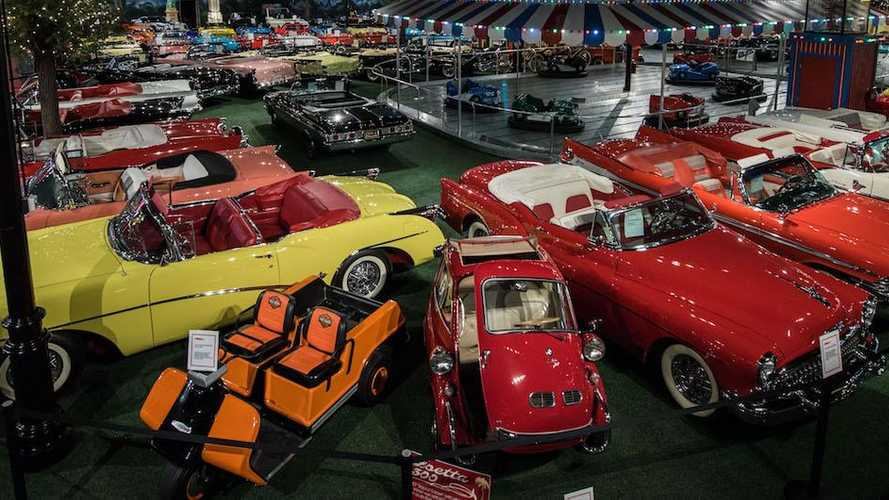 140 cars including Herbie and Indy pace car for sale without reserve