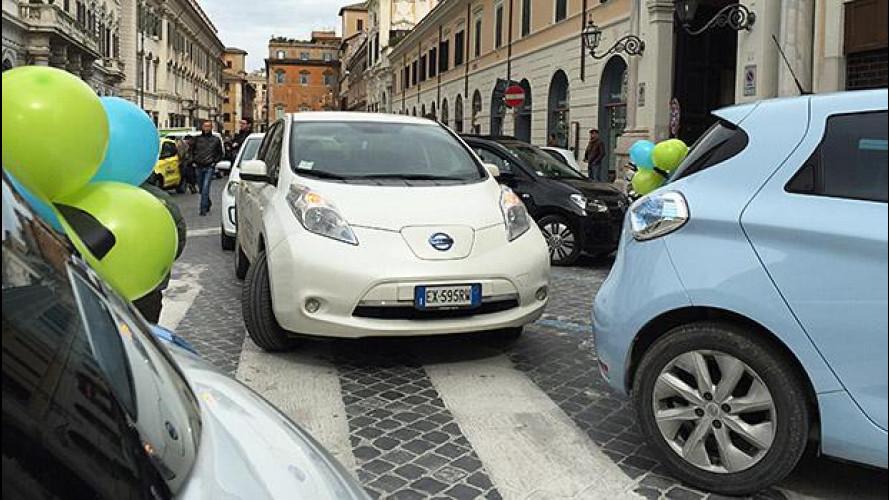 Auto elettrica: i romani che la vogliono