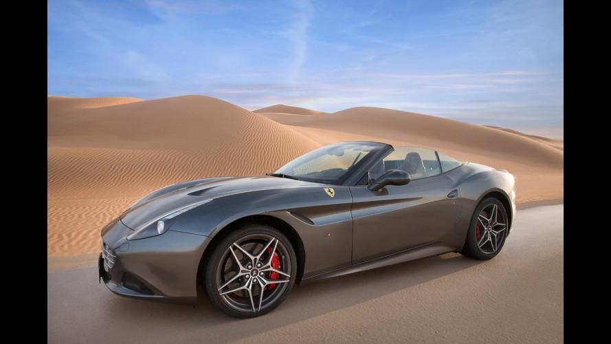 """Ferrari California T, corsa nel """"Deserto Rosso"""" [VIDEO]"""