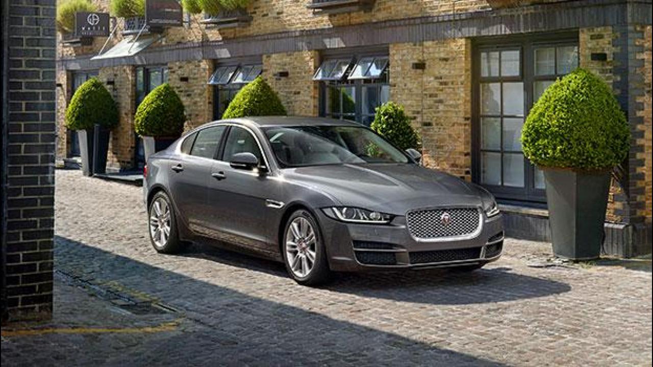 [Copertina] - Jaguar XE, l'inglese pensata per