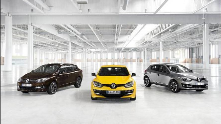 Renault Megane restyling